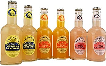 Fentimans Summer Flavored Soda Collection - Pack of 6