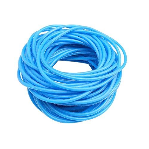 TOOKY 50P Gummy Silicone Wristbands Bracelets Bands Shag Rubber Gummies Bangles Wristbands (blue)