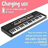 Immagine 1 wostoo tastiera elettronica chargable pianoforte