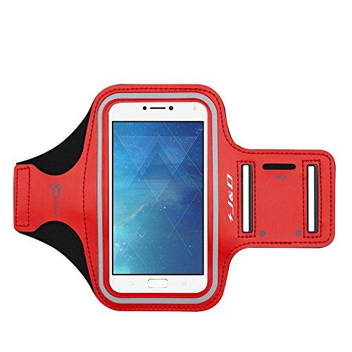 JundD Kompatibel für Zenfone 6 2019/ZenFone 4 Max Armband, Sportarmband für ASUS ZenFone 4 Max Running Armband, Zusätzliche Tasche für Schlüssel, Ideale Kopfhörer-Verbindung für Laufen, Workout