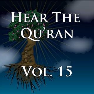 Hear The Quran Volume 15 cover art