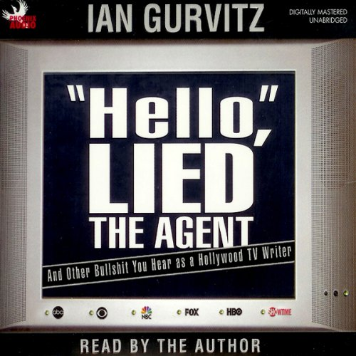 'Hello', Lied the Agent audiobook cover art