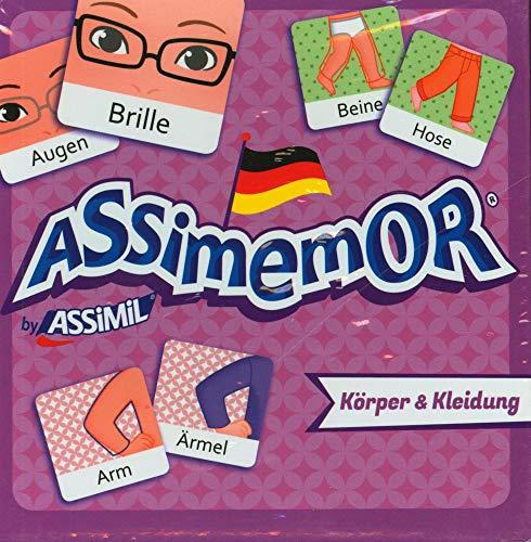 ASSiMEMOR Körper & Kleidung: Das kinderleichte Deutsch-Gedächtnisspiel von ASSiMiL
