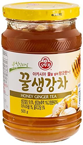 Ingwer-Honig Tee zum Aufgießen