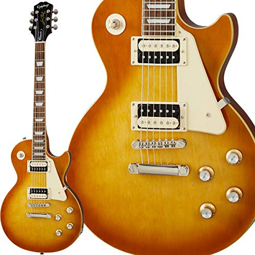 Epiphone Les Paul Classic Honey Burst Guitarra Electrica