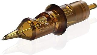 HAWINK Tattoo Cartridge Naalden # 10 Bugpin 7 Round Liner X-Taper 20PCS met Membraan Professional Wegwerp EN02-20-1009RL