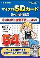 マイクロSDカード Switch対応 64GB