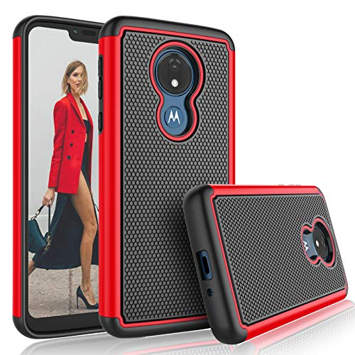 Moto G7 Optimo Maxx Sturdy Shockproof Case by Tekcoo