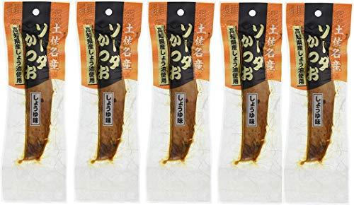[竹内商店] 鰹節 ソーダがつお しょうゆ味 生節 40g×5