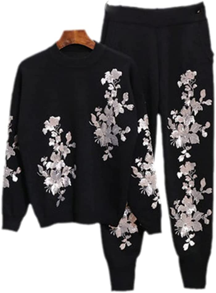 Autumn Women Genuine Free Shipping Sweater Set Long ! Super beauty product restock quality top! Sleeve + Ladies Knit Tops Pullover