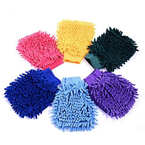 N/A 1 auto-accessoires auto reinigingsbenodigdheden microvezel handdoek auto wassen water handschoenen auto wasmachine krasbestendig auto reinigingsdoek