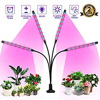 M Epoch Making Plant Grow 80W 80 Led Light Bars