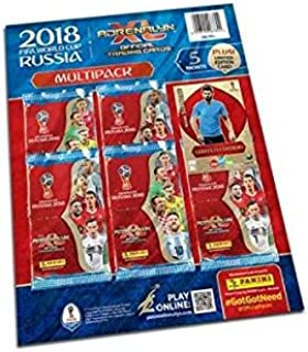 Panini FIFA World Cup 2018 Adrenalyn XL Multipack + Limited Edition Card (Dispatched From UK)