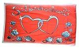 Fahne / Flagge Silberhochzeit + gratis Sticker, Flaggenfritze®
