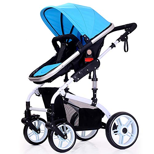 Buy Discount WANGLXST Travel System, Foldable Anti-Shock High View Carriage, Infant Carriage Portabl...