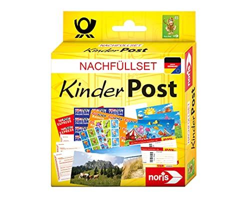 Noris 606521006 Kinderpost Nachfüllset für das beliebte Rollenspiel, geeignet für alle Kinderpost-Spiele, ab 4 Jahren