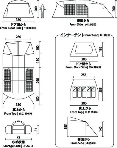 コールマン『トンネル2ルームハウス/LDX』