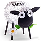 Gadgy Solarlampen für außen | Schaf gartendeko solar mit Schatteneffekt | Metall gartenfiguren