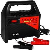 KFZ Batterieladegerät Ladegerät Batterie Auto Akku Ladegerät Autobatterie aufladen 6V+12V 6 A
