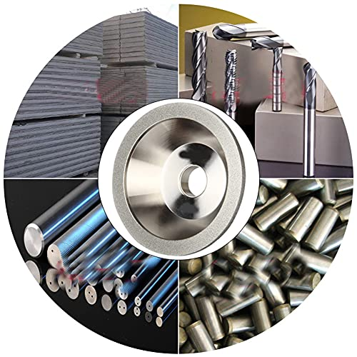 Preamer 100x32x20x10x5 Cup Diamond Grinding Wheel Dressing Tool for Alloy Blade Tungsten
