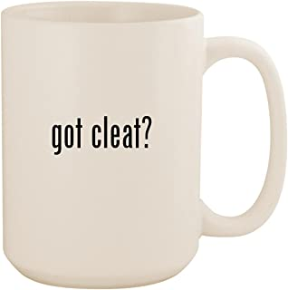 got cleat? - White 15oz Ceramic Coffee Mug Cup