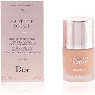 Christian Dior Capture Total Triple Correcting Serum SPF 25 Foundation, No. 030/ Beige, Medium, 1 Ounce