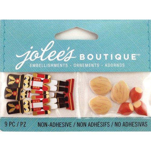 Jolee's Boutique Scrapbooking-Verzierungen, Mini-Nussknacker