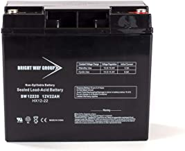 Bright Way Group Battery 12V 22AH Gel Battery for Schumacher DSR ProSeries PSJ-2212 Booster Brand Product