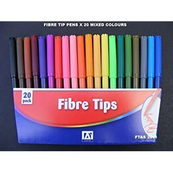 9 x art therapy easy grip chunky drawing marker jumbo fibre felt tip pens
