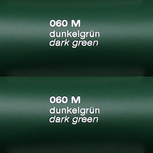 Unbekannt 5,39€/m² Rapid Teck® Matt Folie - 060 Dunkel Gruen - Klebefolie - 5m x 63cm - Folie Matt Plotterfolie - Klebefolie selbstklebend - auch als Moebelfolie - Dekofolientage