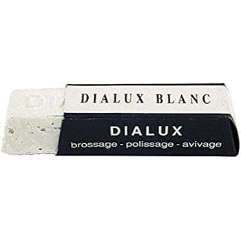 Blanc Paste One Bar of White Dialux Jewelers Polishing Compound Rouge