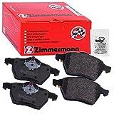 ZIMMERMANN 23914.170.2Serie Bremsbeläge, vorne/hinten, 2Sensoren, inklusive Platte dämpfend