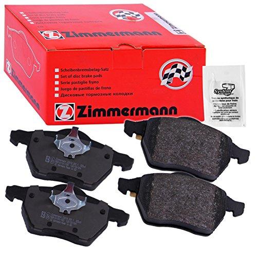 Preisvergleich Produktbild ZIMMERMANN 20168.190.1 Serie Bremsbeläge,  vorne,  inklusive Platte dämpfend