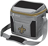 Coleman NFL Soft-Sided Insulated Cooler and Lunch Box Bag, 9-Can Capacity, New Orleans Saints