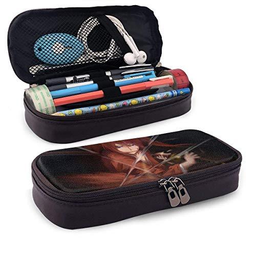Himura Kenshin Ledermäppchen, Student Stationery Bag, College Cosmetic Pencil Case