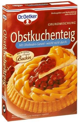 Dr. Oetker Obstkuchen-Teig, 12er Pack (12 x 258 g Packung)