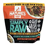Nature's Diet Simply Raw Freeze-Dried Raw Whole Food Meal - Makes 18...