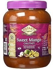 Patak's Patak, Chutney Mango Dulce, Frutas Exóticas y Vegetales Cocinados con Azúcar, 2900 Grams