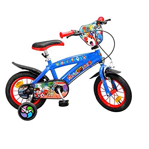 GUIZMAX Vélo Yo Kaï Watch 12 Pouces Licence Officielle Disney Enfant