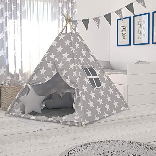 Elfique Nueva carpa para niños carpa tipi para niños carpa de juego con tapete de juego por Klara Brist