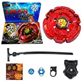 Crush Blades Red Fang Leone W105R2F Burning Claw Metal Fusion   Launcher Included