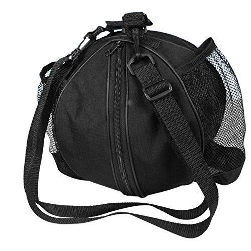 ITODA - Borsone da basket professionale impermeabile, portatile, borsa a tracolla Oxford arrotondata, per palestra, allenamento, sport, calcio, calcio, pallavolo