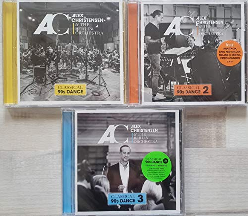 inkl.Alex Christensen & und The Berlin Orchestra 3 CD Album Best of Mega Set Classical 90s Dance 1,2,3 Alle Hits