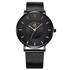 QUARTZ WRIST WATCHES: High quality Japanese quartz movement with analog display, provide precise time keeping. High hardness mineral glass (Key scratch resistant), alloy case with alloy band, compressive and abrasion resistance. COOL SILVER STAINLESS...