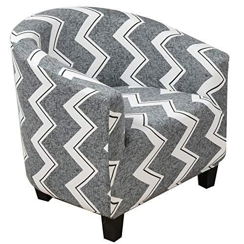 XDKS Fundas para silla de bañera, fundas para sillón, funda elástica a prueba de polvo, funda protectora universal para silla de baño, decoración para sala de estar (simple)