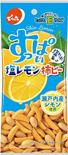 でん六 Eサイズ塩レモン柿ピー 53g ×10袋