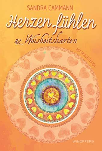 Herzen fühlen – Weisheitskarten: 42 Weisheitskarten zum Thema Liebe mit Begleitbuch