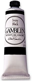 Gamblin Artist Oil 150Ml Ivory Black