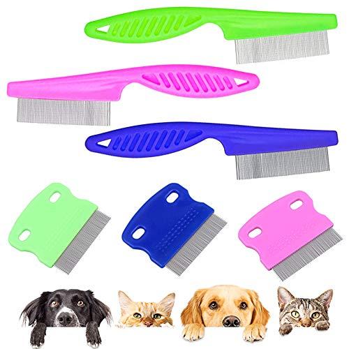 Peine de dientes finos para mascotas,peine de aguja de acero inoxidable,diseño de huevos,captura de pulgas y piojos,eliminación de caspa, manchas de pelo,manchas de lágrimas en gatos