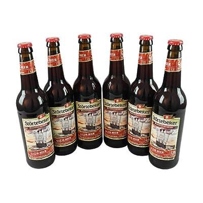 Störtebeker Glüh-Bier (6 Flaschen à 0,5 l / 5,0 % vol.) Mehrweg